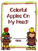 Colorful Apples On My Head Classbook