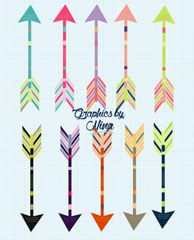 Colorful Arrow Clipart