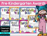 Colorful Awards {Editable}