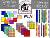 Colorful Base Ten Blocks