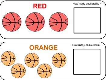 Colorful Basketball Count