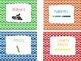 Colorful Beaded Classroom Decor Kit