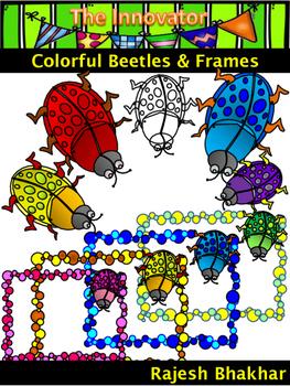 Colorful Beetles & Frames
