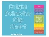 Colorful and Bright Behavior Clip Chart