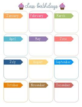 Colorful Birthday Log