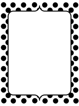 Colorful & Black Dots Backgrounds & Frames Freebie! (Commercial Use OK)