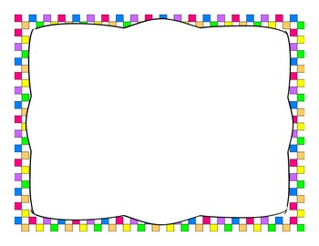 Colorful Block Border