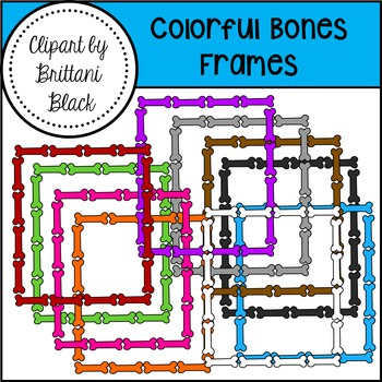 Colorful Bones and Frames