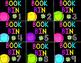 Colorful Book Bin Labels