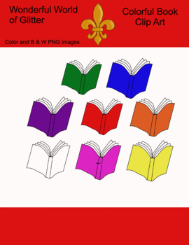 Colorful Book Clipart