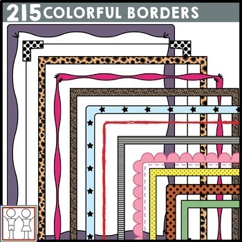 BUNDLE: Colorful Borders