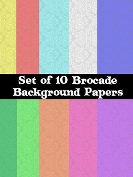 Colorful Brocade Backgrounds