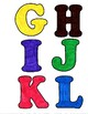 Colorful Bulletin Board Letters