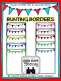 Colorful Bunting Borders