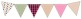 Colorful Bunting Pennant Clip Art
