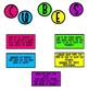 Bright and Cheerful CUBES Bulletin Board Set - Updated 8/18/13