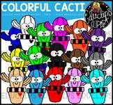 Colorful Cacti Clip Art Bundle {Educlips Clipart}