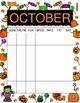 Colorful Calendars - undated