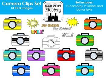 Colorful Camera Set