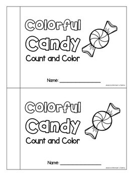 Colorful Candy - Counting and Colors Practice