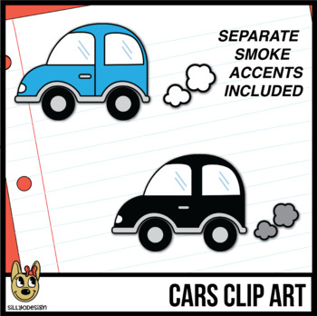 Colorful Car Clip Art