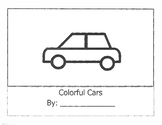 Colorful Cars Adapted Reading Response Book