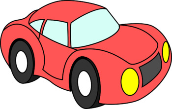 Colorful Cars Clip Art