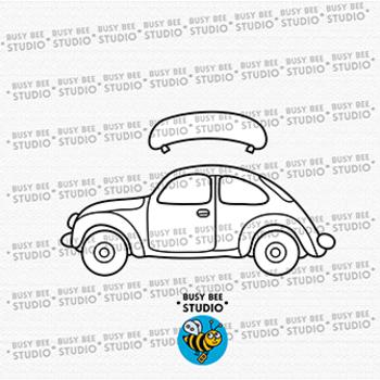 Colorful Cars Clip Art set 2