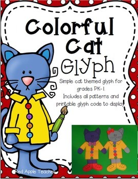 Colorful Cat Glyph for PK-1