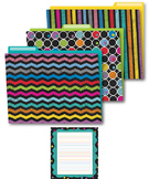 Colorful Chalkboard Office Decor Set SALE 20% OFF 144932