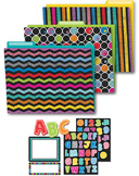 Colorful Chalkboard Organization Set SALE 20% OFF 144925