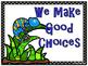 Colorful Chameleons Behavior Clip Chart