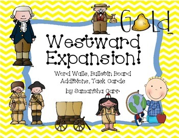 Westward Expansion Charts for Your Classroom!