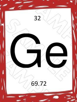 Colorful Chemistry Word Art: Genius
