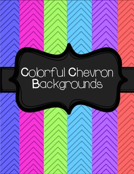 Colorful Chevron Backgrounds