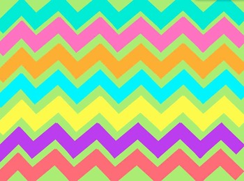 Colorful Chevron Backgrounds (Personal and Commercial Use!)