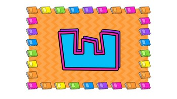 Colorful Chevron Books Guided Reading Leveled Poster Chart