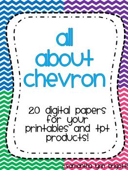 All About Chevron Digital Papers {Personal and Commercial Use}