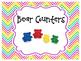 Colorful Chevron Math Manipulative Labels