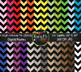 Colorful Chevron Mix Bundle Digital Papers {Commercial Use Digital Graphics}