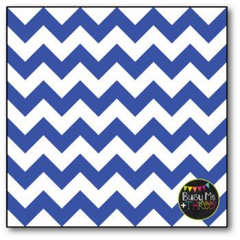 Colorful Chevron Mix Bundle Digital Papers {Commercial Use Digital Graphics}