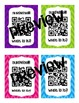 Colorful Chevron QR Code Reward Coupons (Low or NO cost rewards)