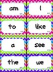 Colorful Chevron Complete Word Wall- HMH Journeys 1st Grade