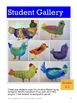 Colorful Chickens Art Lesson for Grades K-3