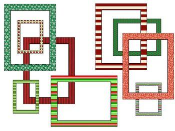 Christmas Borders