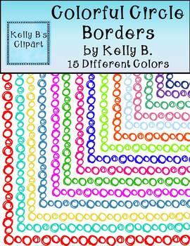 Colorful Circle Borders
