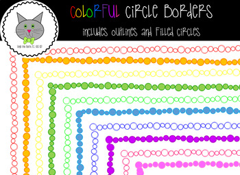 Colorful Circle Borders