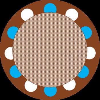 Colorful Circle Tags