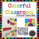 Colorful Classroom Circle Time Set