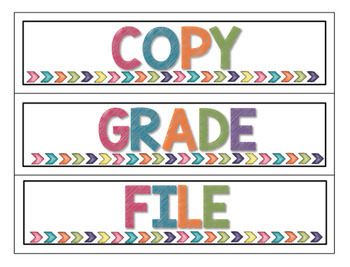 Colorful Classroom Decor- GROWING BUNDLE